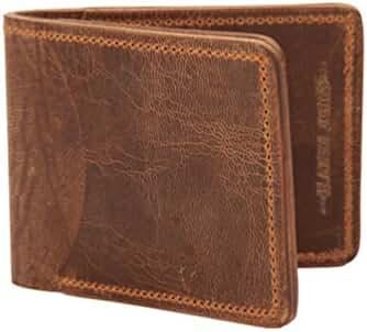 Hanks Tiny Leather Bi-Fold Wallet – SIMPLE – INDESTRUCTIBLE – Multi Card Holder – USA MADE