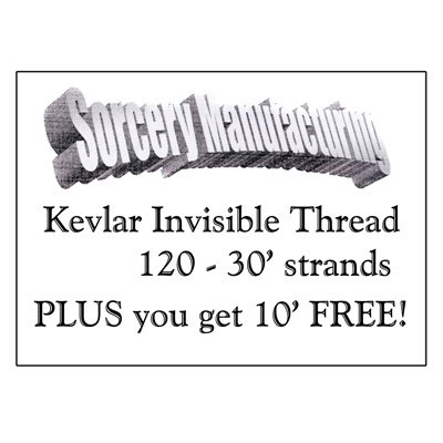 Kevlar Invisible Thread (40 ft) from Sorcery - Kevlar Thread Invisible