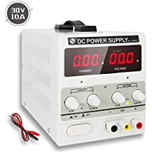RoMech DC Power Supply Variable - Adjustable Switching Regulated Bench Power Supply