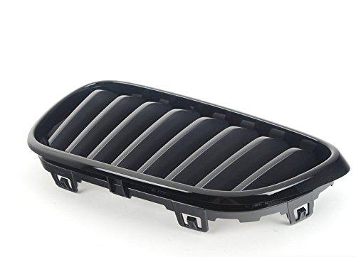 BMW Genuine M Performance Front Left Grille Trim Gloss Black Finish 51712336815