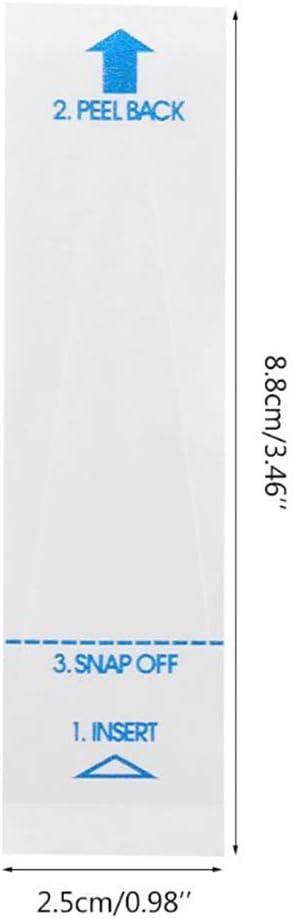 Cubiertas t/érmicas desechables para term/ómetro digital term/ómetro recto seguro e higi/énico SayHia paquete de 100 unidades saludable y universal