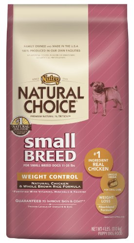 Natural Choice Dog Small Breed Weight Control Dog Food, 4-Pound, My Pet Supplies