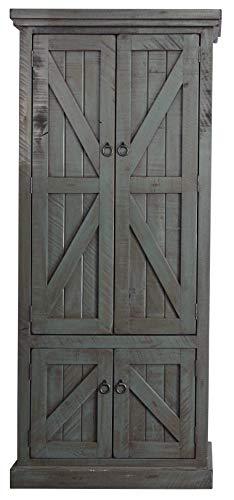 American Heartland #30791RDB Rustic Double Door Pantry, Rustic Dark Blue by American Heartland MFG. (Image #4)