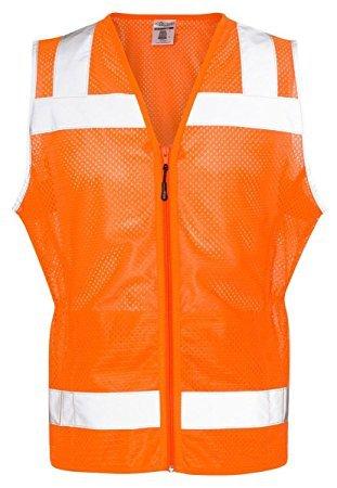 ML Kishigo 1525-1526 Women's Economy Vest Orange XL ()