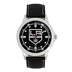 NHL Los Angeles Kings Mens Player Series Wrist Watch, Silver, One Size