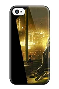 Iphone 4/4s Case Slim [ultra Fit] Deus Ex Human Revolution Protective Case Cover