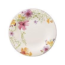 Villeroy & Boch Mariefleur Basic Plato plano, 27 cm, Porcelana Premium, Blanco/Multicolor, 27cm