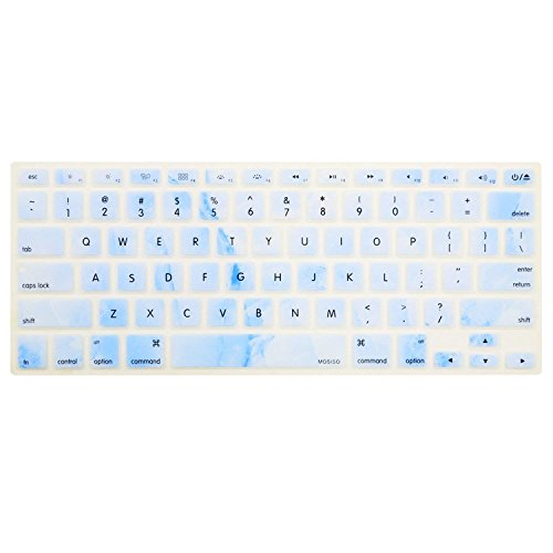 online retailer e7c62 bd995 MOSISO Keyboard Cover with Pattern Compatible MacBook Pro 13 Inch ...