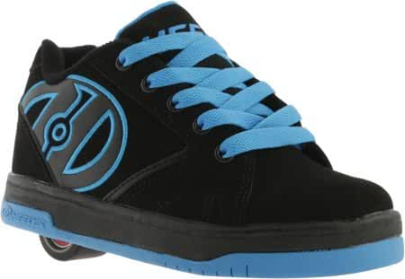 Heelys Men's Propel 2.0 Black Black Royal Roller Skate Shoes Sneakers