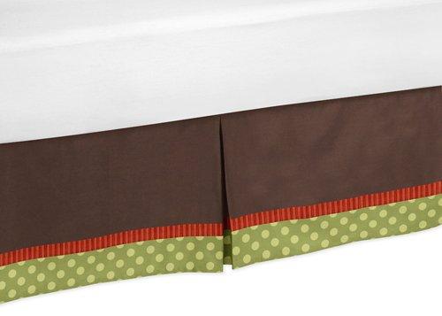 - Sweet Jojo Designs Forest Friends Bed Skirt for Toddler Bedding Sets
