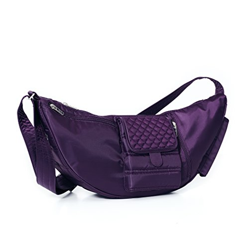 Lug Clothing, Shoes and Jewelry Sling Bag, Concord Purple