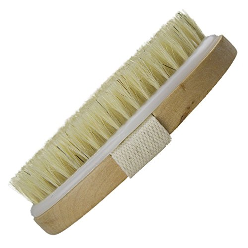 bC BimeTALliC CAble Body Brushes Dry Skin Bath Exfoliating Natural Bristle Remove Dead Toxins Cellulite Treatment, Improves Lymphatic Functions, Exfoliates, Improves Skin's Health Beauty