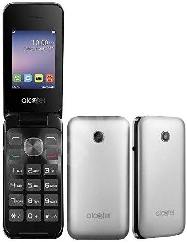 Alcatel Flip Phone Unlocked 2G GSM Dual Sim Camera 2.4 Display (Alcatel Flip Phone)