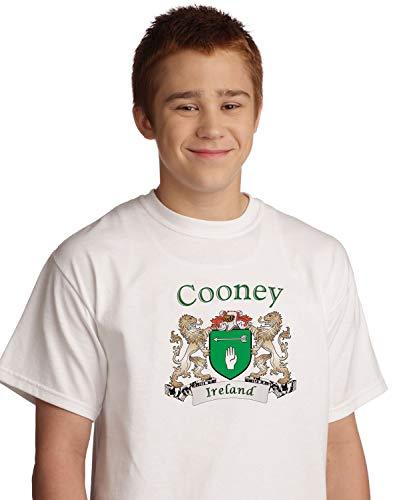 Cooney Irish coat of arms tee shirt in White