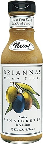 Briannas Italian Vinaigrette Dressing 12 oz (Pack of (Italian Vinaigrette Dressing)