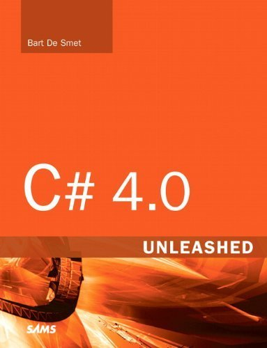 C# 4.0 Unleashed 1st edition by De Smet, Bart (2011) Taschenbuch