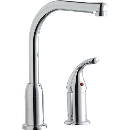 Elkay Everyday LKF413945RS Kitchen Faucet with Restricted Spout and Remote Lever Handle