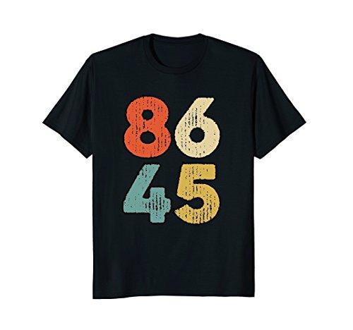 Classic Vintage Style 86 45 Anti Trump T-Shirt |86 45 Shirt by Classic Vintage Style 86 45 Anti Trump Gift Tees