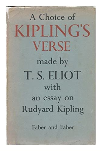A Choice Of Kiplings Verse Made By Ts Eliot With An Essay On  A Choice Of Kiplings Verse Made By Ts Eliot With An Essay On Rudyard  Kipling T S Eliot  Amazoncom Books Assignment Writers Uk also Good Essay Topics For High School  How To Write A High School Application Essay