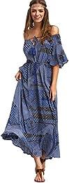 Amazon.com: Off the Shoulder - Dresses / Clothing: Clothing- Shoes ...