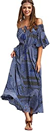 Amazon.com: Off the Shoulder - Dresses / Clothing: Clothing Shoes ...