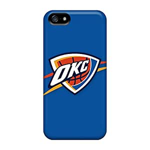 Ultra Slim Fit Hard The-best-case Case Cover Specially Made For Iphone 5/5s- Nba Oklahoma City Thunder 1