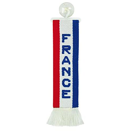 TRUCK DUCK Mini Scarf French France Minif Bunting Flag Suction Cup Car Truck Mirror Decorative