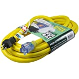 Conntek STW Super Heavy Duty Outdoor Jacket Lighted End Extension Cord