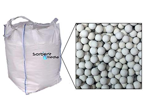 3A Molecular Sieve, 4x8 Mesh Beads, 2,204 Pounds per Super Sack, Standard Zeolite for Water Removal, Quality Suitable for Personal or Commerical Use, Great for Retaining Liquids, 1SS
