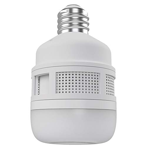 CLEANRTH FLYLIGHT | 75-watt Daylight LED Light Bulb That Vacuums & Traps Flying Bugs to Create Insect Fly Control