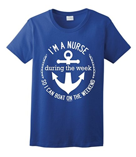 Nurse During Weekend Ladies T Shirt