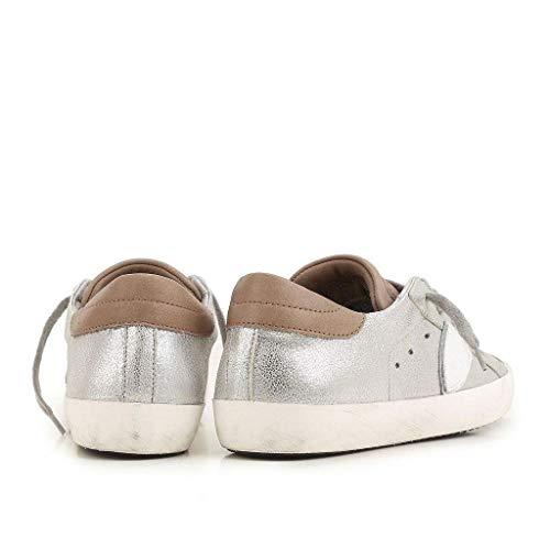 37 Sneakers Donna Philippe Size Argento clld Cod Model 0HHxq5P