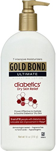 Gold Bond Ultimate Hydrating Lotion, Diabetics Dry Skin Relief 18 oz (Pack of 4) ()