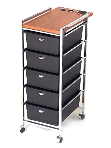 PIBBS 5 Tier Cart with ART70 Topper Model D29 Health and Beauty