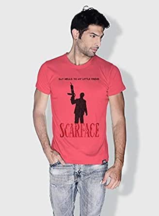 Creo Scarface Movie Posters T-Shirts For Men - Xl, Pink