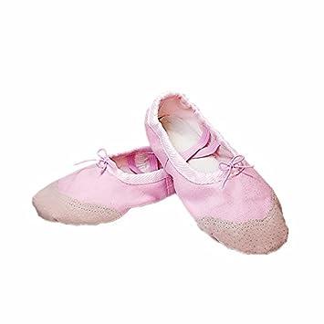 Wuyulunbi Kinder Dance Schuhe Leinenschuhe Yoga Kung Fu Schuhe Ballett Schuhe, Fünfundzwanzig, schwarze Haut Kopf