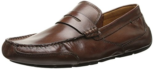CLARKS Men's Ashmont Way, Cognac Smooth Leather, 9 D - Medium ()