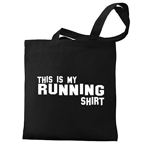Running my Eddany This Canvas shirt Eddany Bag is Tote This FqXIPBwI