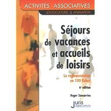SEJOURS DE VACANCES ET ACCUEILS DE LOISIRS