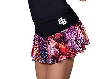 Desconocido Falda Basica Chica Estampado para Tenis Y Padel - L ...