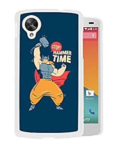 Thor Hammer Time (2) Google Nexus 5 Phone Case On Sale