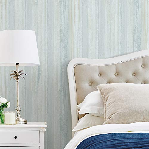 Advantage 2810-SH01033 Donella Light Blue Stripe Wallpaper