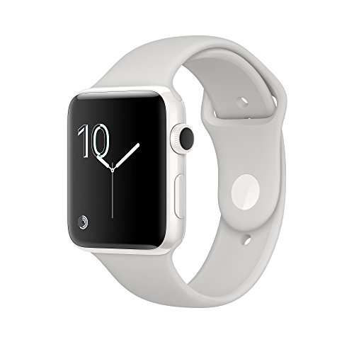 Apple Watch Edition, White Ceramic Case with Cloud Sport Band, 42MM