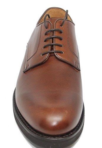 Zapatos de Cordones con pala Lisa BERWICK de Piel de Becerro color Cuero para Hombre