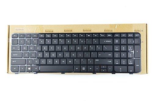 Eathtek New Laptop Keyboard with Backlit and Frame for HP Pavilion dv6-7000 698951-001 Series Black US Layout