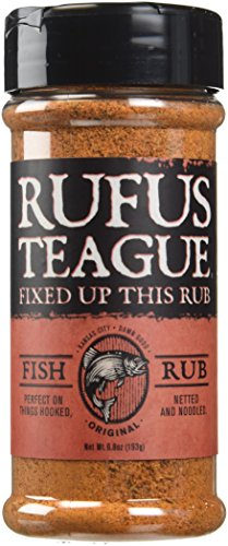Rufus Teague Rub Fish, 6.8 oz