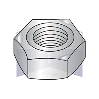 Carton: 1,500 pcs M8-1.25 Hex Weld Nuts 3 Projections /& Center Pilot Ring 18-8 Stainless Steel DIN929
