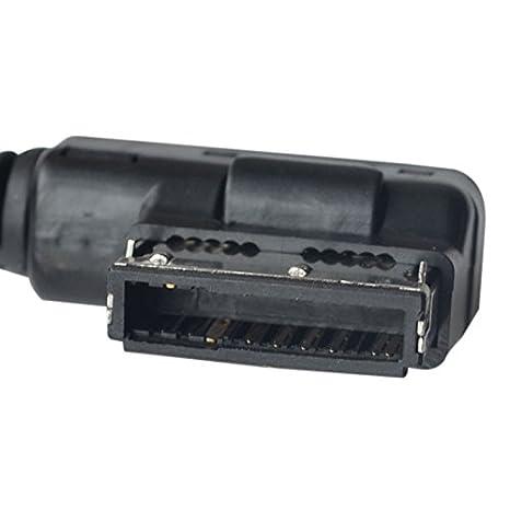 Music Interface AMI MMI to 3.5mm Audio AUX Adapter Cable f Audi Q5 Q8 Q7 A4L A6L