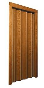 Woodfold Accordion Door Series 240v Light Oak Vinyl
