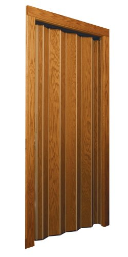 Woodfold Accordion Door Series 240V Light Oak Vinyl Laminate Finish (3'-0